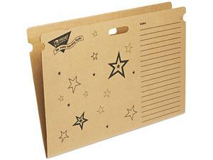 TREND T1021 File 'n Save System Bulletin Board Storage Box, 27-1/4 x 18-1/2 x 1/2, Stars
