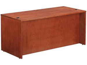 Verona Veneer Series Straight Front Desk Shell, 65w x 29-1/2d x 29-1/2h, Cherry