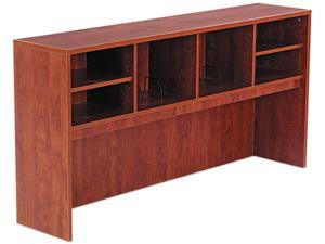 Valencia Series Open Storage Hutch, 70-5/8w x 15d x 35-1/2h, Medium Cherry