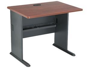 Series A Workstation Desk, 36w x 26-7/8d x 29-7/8h, Hansen Cherry/Galaxy
