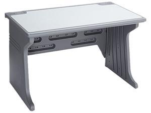 Aspira Modular Workstation Desk, Resin, 48w x 28d x 30h, Charcoal