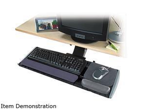Kensington 60718 Adjustable Keyboard Platform with SmartFit System, Black