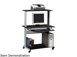 Mayline 8350MRANT Eastwinds Multimedia Workstation, 36¾w x 21¼d x 50h, Anthracite
