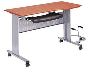 Mayline 8100TDMEC Eastwinds Mobile Work Table, 57w x 23½d x 29h, Medium Cherry