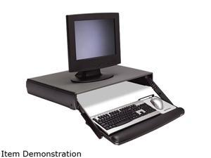 3M KD95CG Adjustable Keyboard Drawer, 29-3/10 x 19-4/5, Charcoal Gray