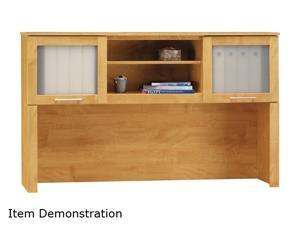 "Bush Furniture Signature WC81431 Somerset Collection Hutch 60"" - Maple Cross"
