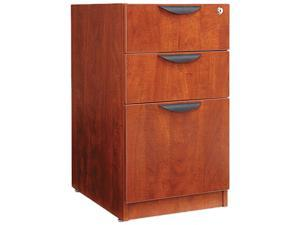 Alera VA53-2822MC (ALEVA532822MC) Valencia 2 Box/1 File Full Pedestal, 15-5/8w x 22-7/8d x 28-1/2h, Medium Cherry