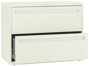 HON 782LL 700 Series Two-Drawer Lateral File, 36w x 19-1/4d, Putty