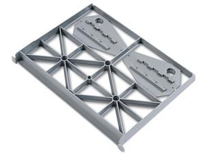 HON F80 Optional Follower Block for Flagship or Brigade Series File Pedestals, Gray only