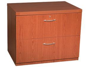 Mayline AFLF36LCR Aberdeen Series Freestanding Lateral File, 36w x 24d x 29½h, Cherry