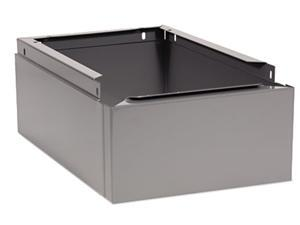 Tennsco CLB-1218MG Optional Locker Base, 12w x 18d x 6h, Medium Gray