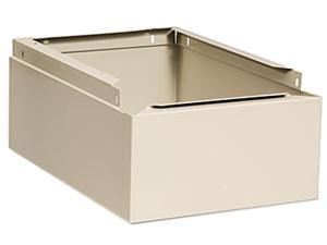 Tennsco CLB-1218SD Optional Locker Base, 12w x 18d x 6h, Sand