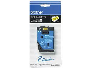Brother TC-7001 TC Tape Cartridge for P-Touch Labelers, 1/2w, Black on Yellow