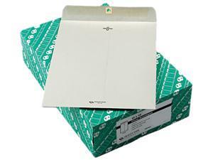Quality Park 38597 Clasp Envelope, 10 x 13, 28lb, Executive Gray, 100/Box