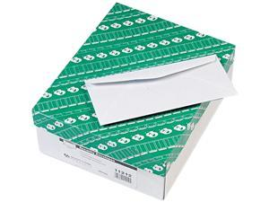 Quality Park 11212 Security Tinted Business Envelope, Traditional, #10, White, 500/Box