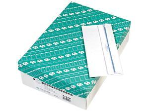 Quality Park 11218 Redi-Seal Security Tinted Envelope, Contemporary, #10, White, 500/Box