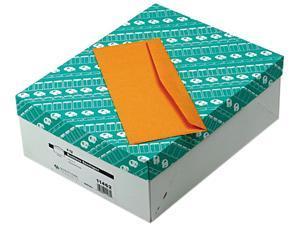 Quality Park 11462 Kraft Envelope, Contemporary, #12, Light Brown, 500/Box