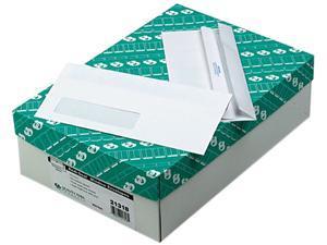 Quality Park 21318 Redi-Seal Window Envelope, Contemporary, #10, White, 500/Box