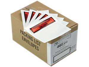 "Quality Park 46896 Top-Print Self-Adhesive Packing List Envelope, 5 1/2"" x 4 1/2"", 1000/Carton"
