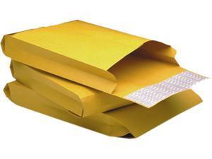 Quality Park 93334 Redi-Strip Kraft Expansion Envelope, Side Seam, 9 x 12 x 2, Brown, 25/Pack