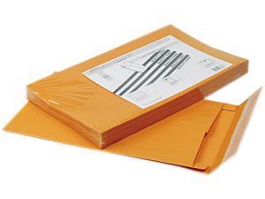 Quality Park 93338 Redi-Strip Kraft Expansion Envelope, Side Seam, 10 x 15 x 2, Brown, 25/Pack