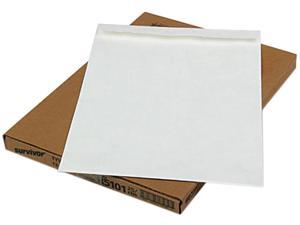 SURVIVOR R5101 Tyvek Jumbo Mailer, Side Seam, 13 x 19, White, 25/Box
