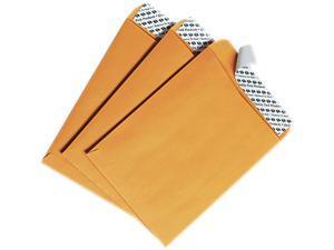 Quality Park 44162 Redi-Strip Catalog Envelope, 6 x 9, Light Brown, 100/Box