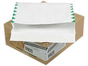 Quality Park R4620 Tyvek Booklet Expansion Mailer, First Class, 10 x 13 x 2, White, 100/Carton