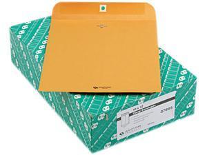 Quality Park™                            Clasp Envelope, 10 x 12, 28lb, Light Brown, 100/Box