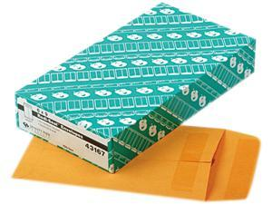Quality Park 43167 Redi-Seal Catalog Envelope, 6 x 9, Light Brown, 100/Box