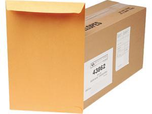 Quality Park 43862 Redi-Seal Catalog Envelope, 10 x 15, Light Brown, 250/Box