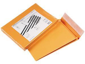 Quality Park 93336 Redi-Strip Kraft Expansion Envelope, Side Seam, 10 x 13 x 2, Brown, 25/Pack