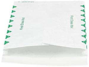 SURVIVOR R4510 Tyvek Expansion Mailer, First Class, 10 x 13 x 1 1/2, White, 100/Carton