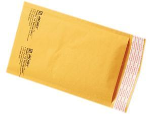 Sealed Air 39091 Jiffylite Self-Seal Mailer, Side Seam, #00, 5 x 10, Golden Brown, 250/Carton