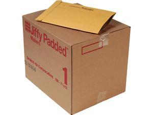 Sealed Air 49260 Jiffy Padded Mailer, Side Seam, #1, 7 1/4 x 12, Golden Brown, 100/Carton