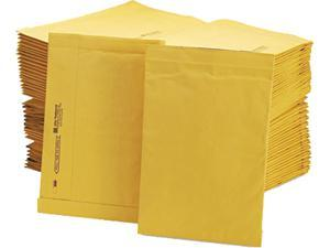 Sealed Air 49269 Jiffy Padded Mailer, Side Seam, #4, 9 1/2 x 14 1/2, Golden Brown, 100/Carton