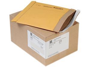 Sealed Air 21486 Jiffy Padded Self-Seal Mailer, Side Seam, #2, 8 1/2x12, Golden Brown,25/Carton