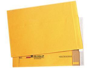 Sealed Air                               Utility Self-Seal Mailer, Side Seam, #2E, 9 x 12, Golden Brown, 100/Carton