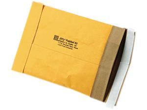 Sealed Air 85871 Jiffy Padded Self-Seal Mailer, Side Seam, #0, 6 x 10, Golden Brown, 250/Carton