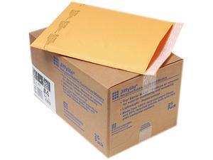 Sealed Air 10189 Jiffylite Self-Seal Mailer, Side Seam, #4, 9 1/2x14 1/2, Gold Brown, 25/Carton