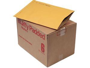 Sealed Air 49281 Jiffy Padded Mailer, Side Seam, #6, 12 1/2 x 19, Golden Brown, 50/Carton