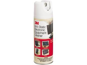 3M CL600 Antistatic Electronic Equipment Cleaner, Oil/Wax-Free, 10 oz. Aerosol