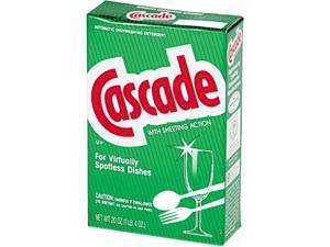 Cascade 00801EA Automatic Dishwasher Powder, 20 oz. Box