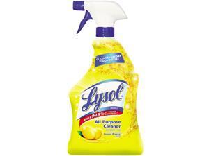 LYSOL Brand 75352CT All-Purpose Cleaner, Lemon, 12 32 oz Spray Bottles/Carton