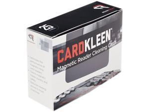 Read Right RR1222 CardKleen Presaturated Magnetic Head Cleaning Cards, 25/Box
