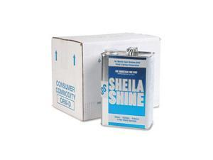 Sheila Shine 4CT Stainless Steel Cleaner & Polish, 1 gal. Can, 4/Carton