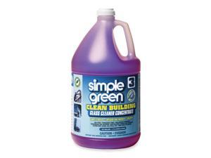 simple green 11301 Clean Building Glass Cleaner Concentrate, Unscented, 1 gal. Bottle