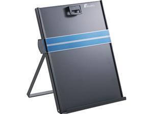 Fellowes 11053 Letter-Size Freestanding Desktop Copyholder, Stainless Steel, Black
