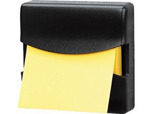 Fellowes 7528201 Partition Additions Pop-Up Note Dispenser for 3 x 3 Pads, Dark Graphite