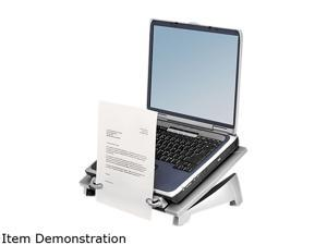 Fellowes 8036701 Office Suites Laptop Riser Plus, Copyholder, 15 1/8 x 11 3/8 x 6 1/2, Black